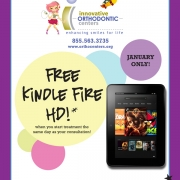 We can give you the NEW straight smile you want this New Year, along with a FREE Kindle Fire HD!* Thumbnail