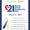 World Down Syndrome Day – Thursday, March 21, 2013 Thumbnail