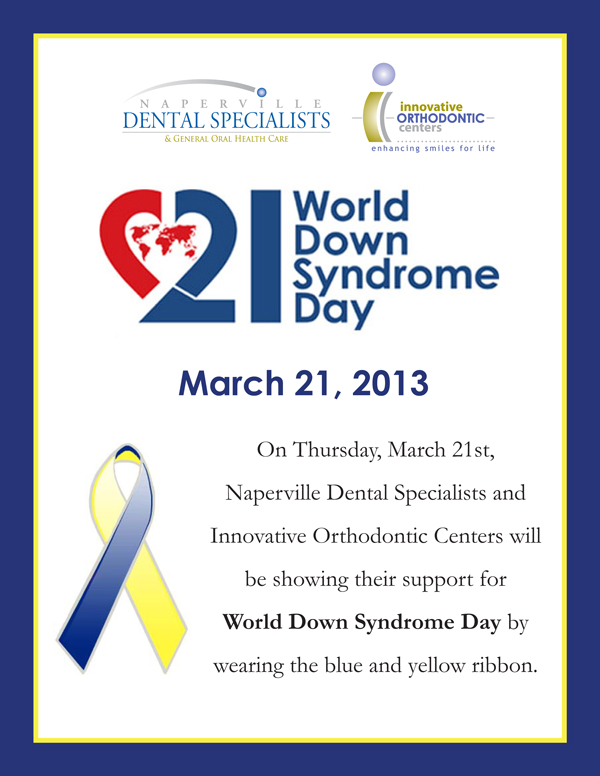 downs syndrome day